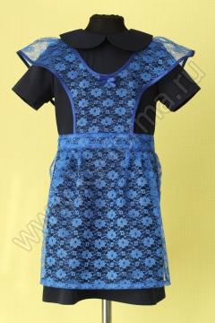 Фартук модель №3 цвет синий