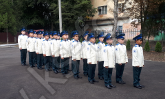 Мундир парадный кадетский
