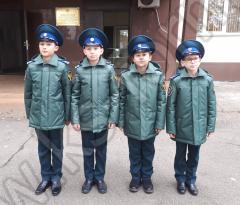 Теплая зимняя куртка для кадетов
